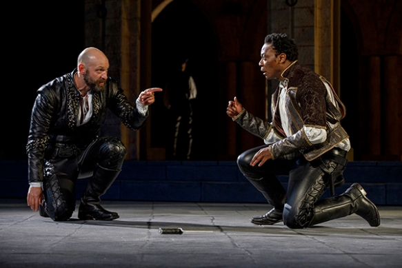 OTHELLO  Written by William Shakespeare Directed by Ruben Santiago-Hudson  Featuring Kevin Rico Angulo, Christopher Cassarino, Peter Jay Fernandez, Motell Foster, Andrew Hovelson, Chukwudi Iwuji, David Kenner, Heather Lind, Tim Nicolai, Flor De Liz Perez,